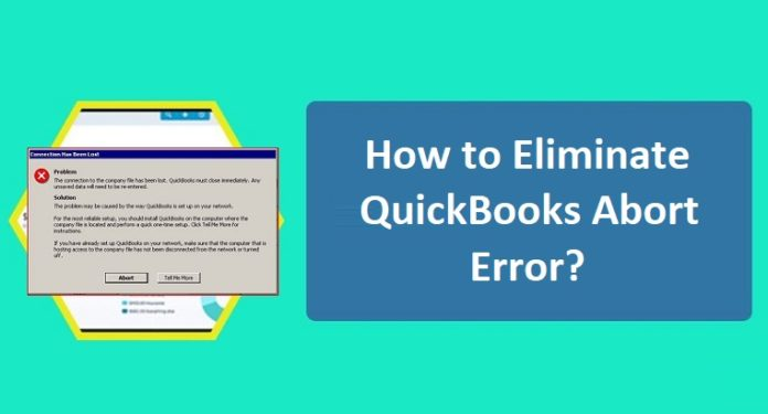 Quickbooks Abort Error