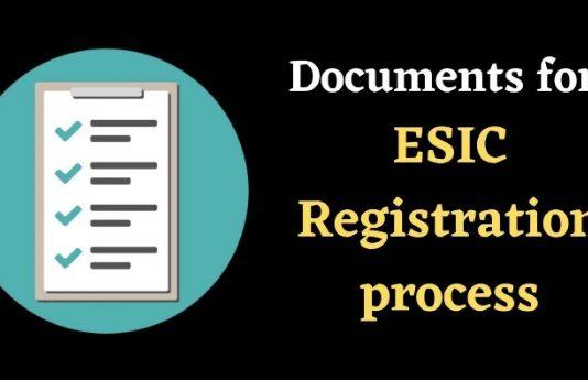 Esic Registration