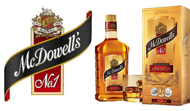 McDowell's No. 1 - Best Brandy Brands in India