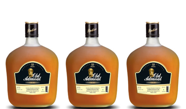 Best Brandy Brands in India Old Admiral Brandy