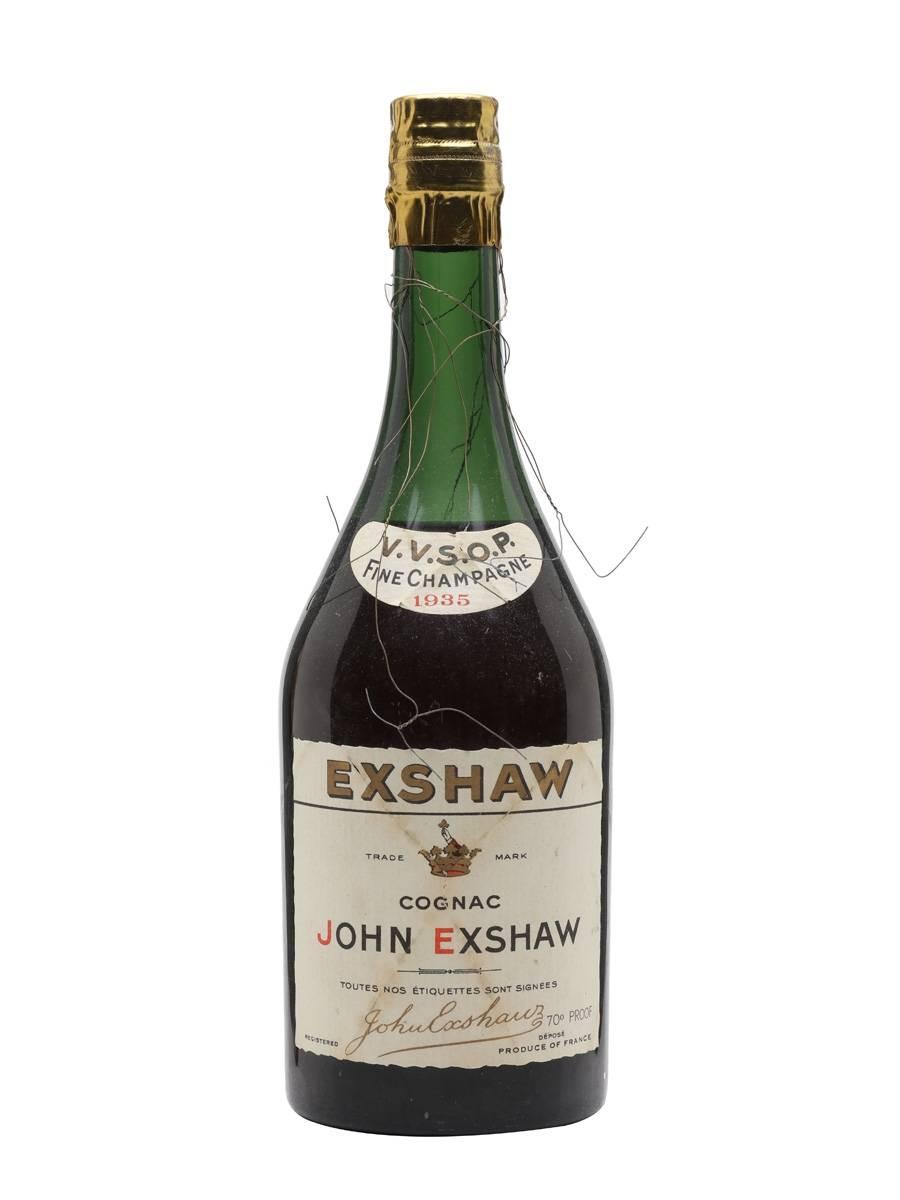 John Exshaw Brandy