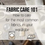 fabric care guide