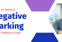 Steps to reduce negative marking in the defence exam